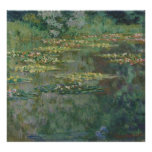 Claude Monet - Le Bassin DES Nympheas Pôsteres