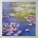 Claude Monet - Nympheas em Giverny Pôsteres