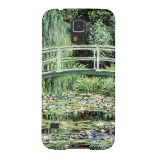 Claude Monet | Waterlilies branco, 1899 Capa Para Galaxy S5