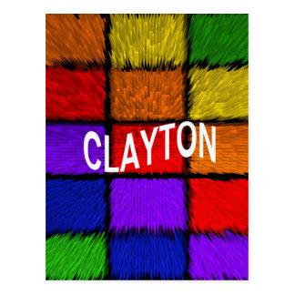 CLAYTON CARTÃO POSTAL