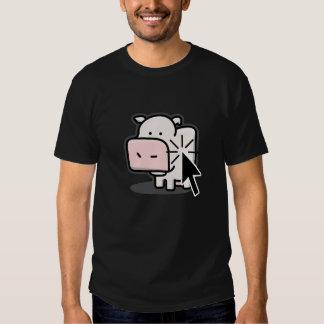 Clicker da vaca tshirt