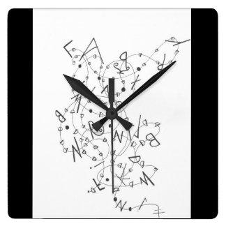 Clock kitchen decor with artwork relógios para pendurar