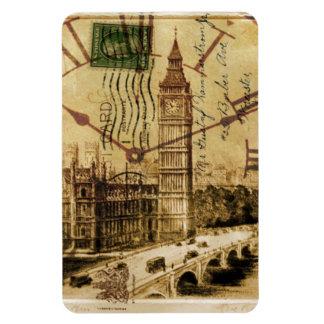 Clocktower ben grande da ponte da torre de Londres Foto Com Ímã Retangular