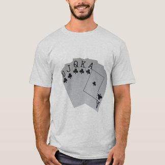 Club_Royal_Flush, _Men's_Ash_T-shirt. Camiseta