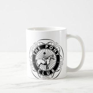 Clube 01 do pônei caneca de café