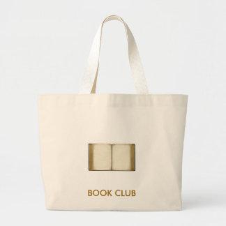 Clube de leitura bolsas para compras