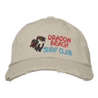 Clube do surf da praia do dragão boné bordado