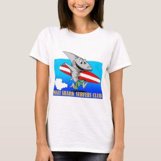 Clube dos surfistas do tubarão de Maui Camiseta