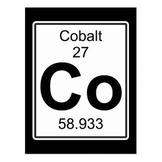 Co - Cobalto Cartão Postal