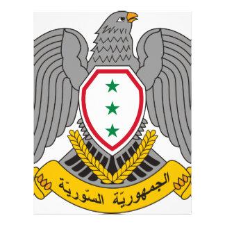 Coat_of_arms_of_Syria-1963 Papel Timbrado