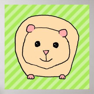 Cobaia, animal dos desenhos animados poster