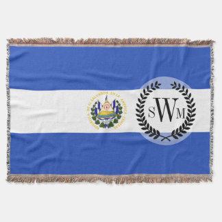 Cobertor A bandeira de El Salvador