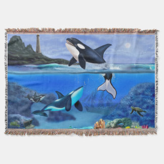 Cobertor A família da orca