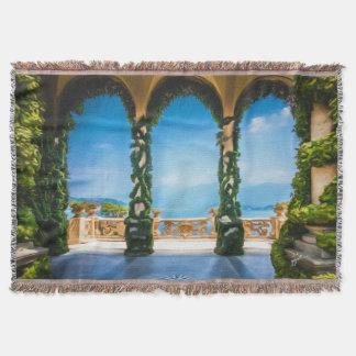 Cobertor Arcos de elegante colorido de Italia