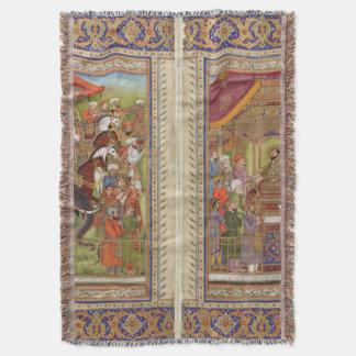 Cobertor Arte muçulmana islâmica de Boho do Islão de India