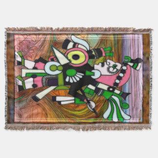 Cobertor Arte popular do Inca tradicional