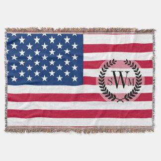 Cobertor Bandeira americana clássica