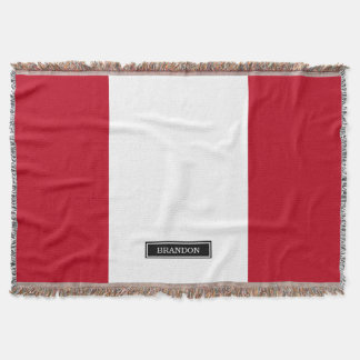 Cobertor Bandeira de Peru