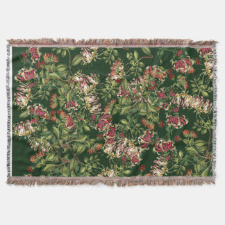Cobertor Cobertura floral do lance do jardim das flores da