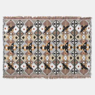 Cobertor Corvo de nativo americano