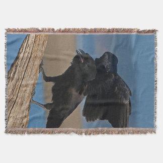 Cobertor Corvo preto
