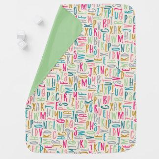 Cobertor De Bebe Alfabeto de ABC unisex
