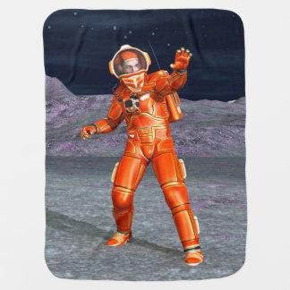 Cobertor De Bebe Astronauta