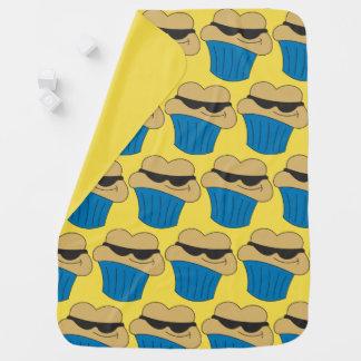 Cobertor De Bebe Bebê engraçado do muffin do parafuso prisioneiro