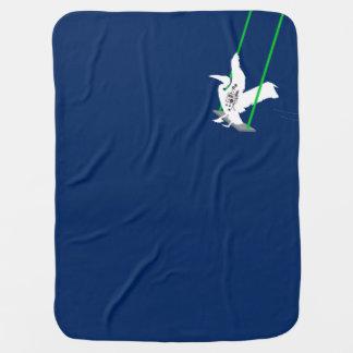 Cobertor De Bebe Cobertura de balanço do bebê do pelicano