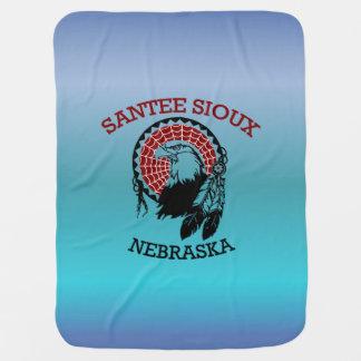 Cobertor De Bebe Cobertura do bebê de Santee Sioux