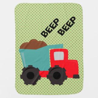 Cobertor De Bebe Cobertura do bebê do camião basculante do sinal