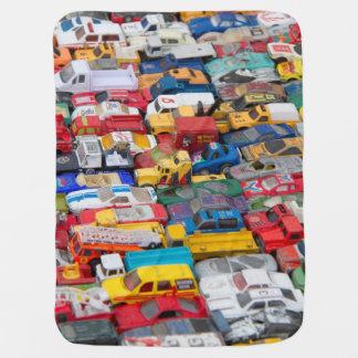 Cobertor De Bebe Cobertura velha do bebê dos carros do brinquedo