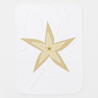 Cobertor De Bebe Estrela do mar
