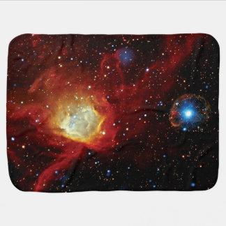 Cobertor De Bebe Foto 1062 do espaço da NASA do resto do Supernova