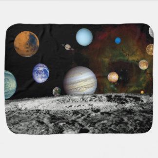 Cobertor De Bebe Fotos do espaço do montagem das imagens do