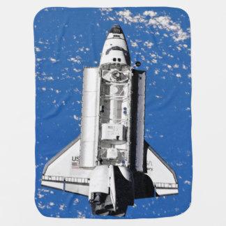 Cobertor De Bebe Órbita de terra da descoberta do vaivém espacial