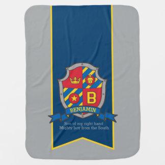 Cobertor De Bebe Rotule a cobertura conhecida feita sob encomenda
