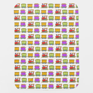 Cobertor De Bebe Trem bonito
