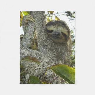 Cobertor De Velo A vida viva gosta de uma preguiça