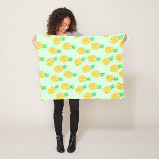 Cobertor De Velo Abacaxis pequenos - cobertura