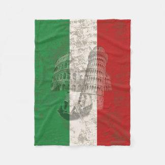 Cobertor De Velo Bandeira e símbolos de Italia ID157