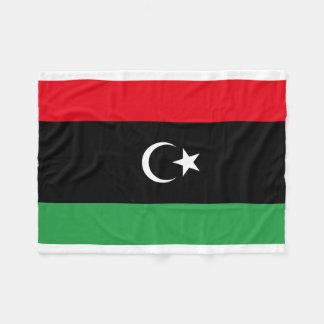 Cobertor De Velo Bandeira nacional do mundo de Líbia