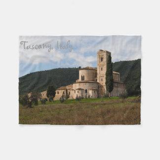 Cobertor De Velo Casa da paisagem do campo de Toscânia, Italia