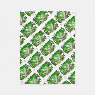 Cobertor De Velo city em 3 point version perspective special green