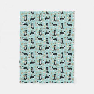 Cobertor De Velo Cobertura do café dos Collies de beira