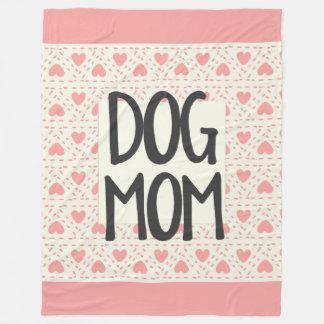 Cobertor De Velo Cobertura do velo da mamã do cão grande
