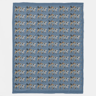 Cobertor De Velo Cobertura do velo do luxuoso de great dane