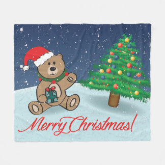 Cobertor De Velo Cobertura do velo do Natal