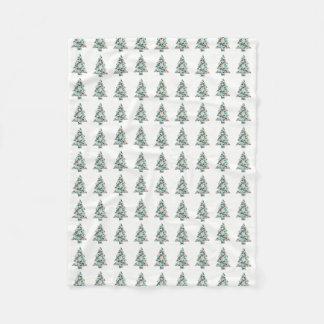 Cobertor De Velo Cobertura geométrica do velo da árvore de Natal