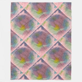 Cobertor De Velo Cobertura malva do impressão